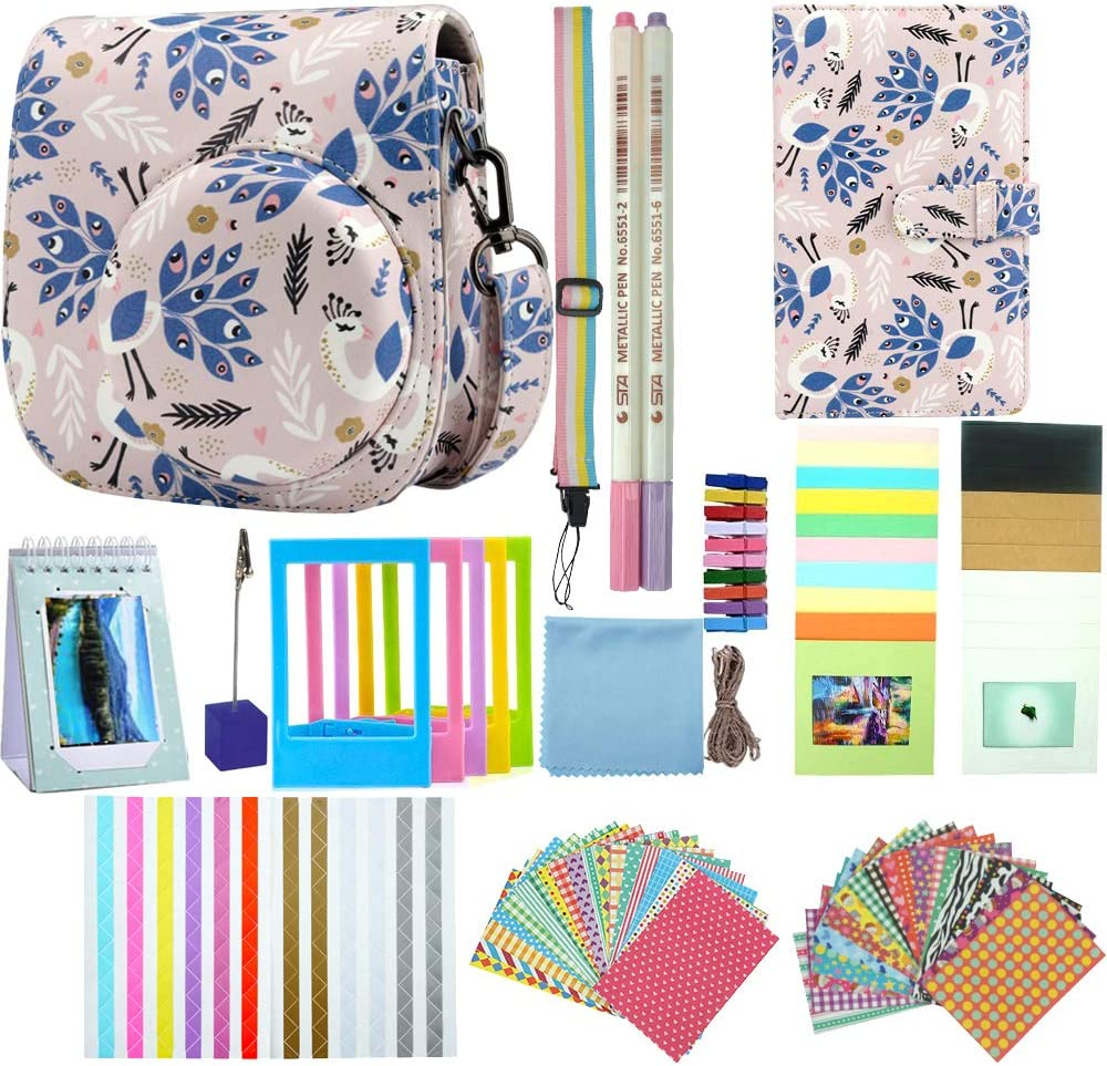 Daily bargain sale Anter Max 87% OFF Instant Camera Accessories Fujifilm Compatible Instax with