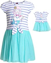Dollie & Me Mermaid Dress Set with Matching Outfit-Girl & 18 Inch Doll Clothes