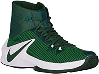 Men's Zoom Clear Out Basketball Shoes (Green/White, 13.5) …