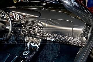 Porsche 911 996 Turbo Interior Real Carbon Fiber Dash Trim KIT Set 1998 1999 2000 2001