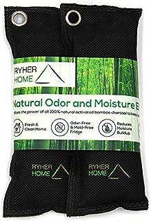 Ryher 2X Desodorante Natural para Zapatos - Elimina el olor y absorbe la humedad - Fórmula mejorada y mayor tamaño 2019 (N...