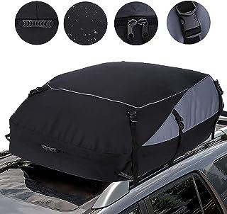 Gutsbox Bagażnik dachowy do samochodu, 585 l, składany, bagażnik dachowy, bagażnik dachowy, 600D, wodoszczelny, torba na b...