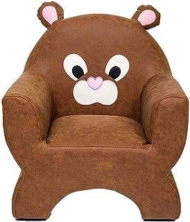 Toddler Armchair Toddler Furniture for Living Room Bedroom Children's Sofa, Cute Cartoon Shape Kids Sofa Chair Soft Plush