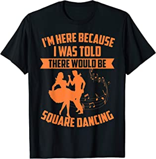 Square Dancing | Cute 50's Round Dancers Funny Mom Dad Gift T-Shirt