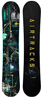 AIRTRACKS Data Snowboard Wide Flat Rocker, 150 155 160 164 cm