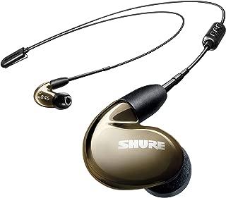 SHURE ワイヤレスイヤホン BT2シリーズ SE846-BNZ+BT2-A ブロンズ : 高音質 / 高遮音性 / マイク・リモコン付 【国内正規品/メーカー保証2年】