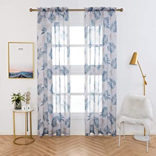 Best printed sheer curtain Reviews