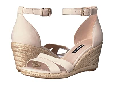 Nine West Jabrina Espadrille Wedge Sandal (Cotton) Women