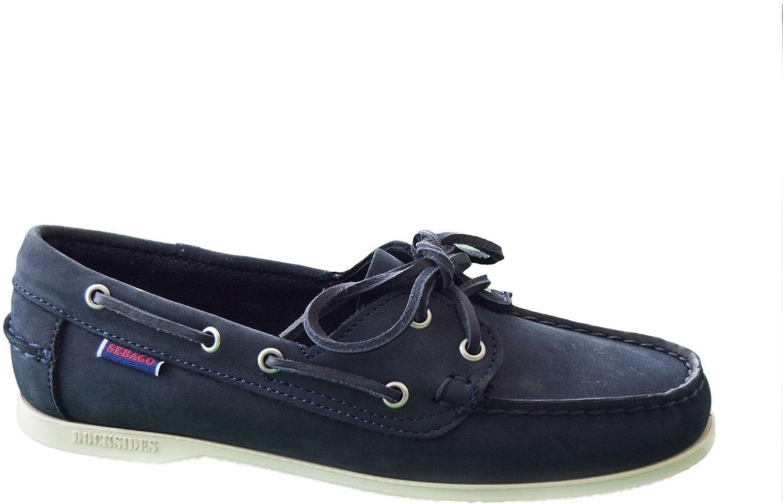 SALENEW very popular Sebago Womens Jaqueline San Antonio Mall Boat 7 Shoes Blue