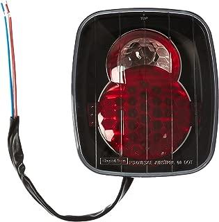 IPCW LEDT407CB Black LED Tail Light for Jeep Wrangler '87-'04