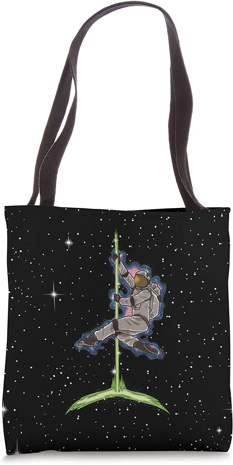 Pole Dance Astronaut - Pole Fitness Outfit for Pole Dancer Tote Bag