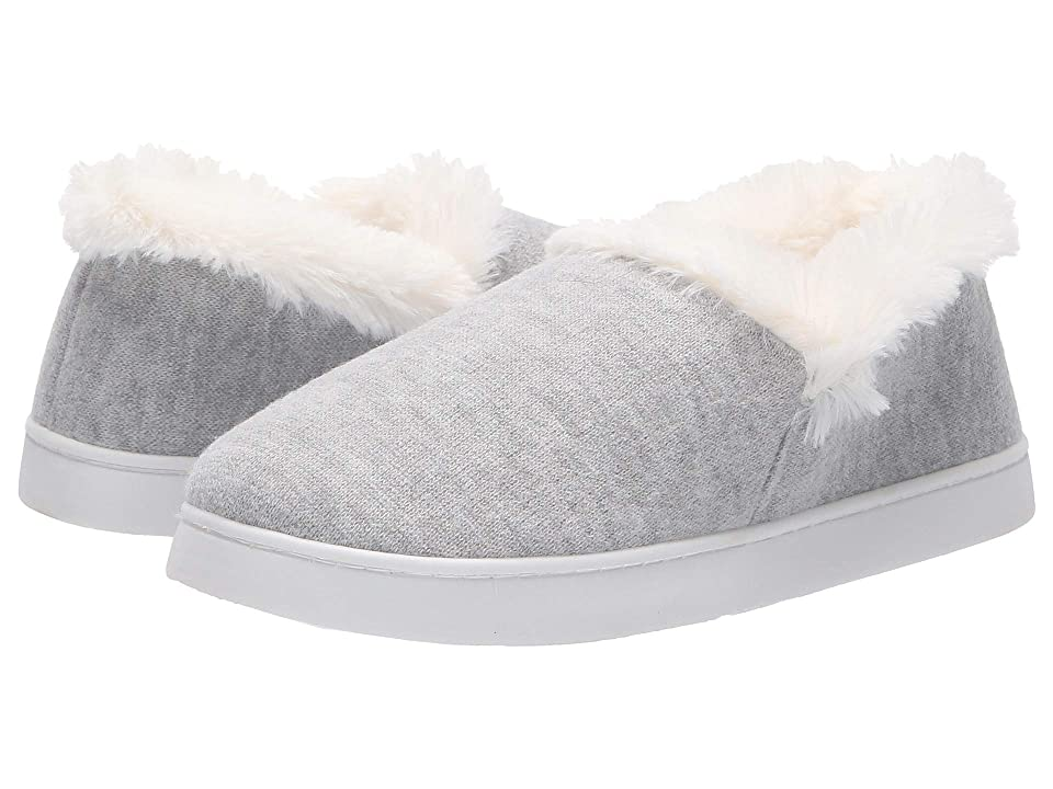 Dr. Scholl's Cozy Madison (Grey Heathered Knit) Women's Slippers, Gray