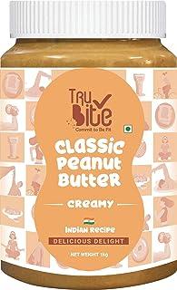 Trubite Classic Peanut Butter (Creamy) | 26g Protein | Cholesterol Free | Indian Recipe | Delightful Taste (1kg)