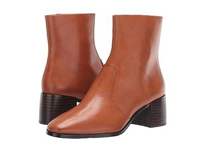 Loeffler Randall Grant Square Toe Boot (Cognac Vachetta) Women
