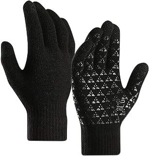 Libertepe Winter Touch Screen Gloves for Women and Men Warm Knit Tech Windproof Running Driving Gloves