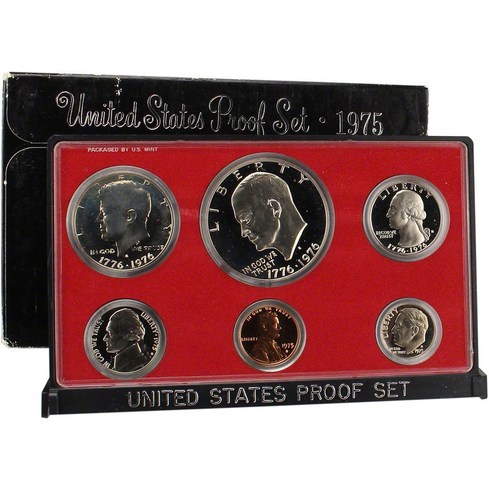 1975 S US Proof Superb Set Limited time trial price Free shipping on posting reviews Uncirculated Gem