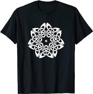 Pagan Celtic Knot Star T shirt Viking Symbol Design Gifts