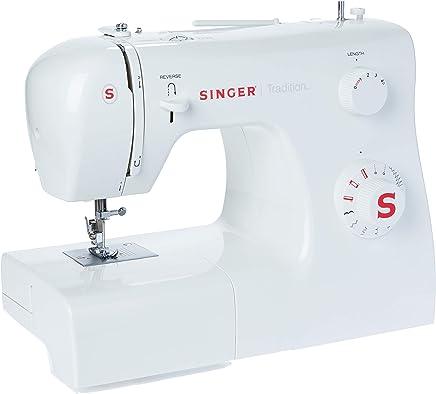 Maquina de Costura Tradition 2250 220v, Singer, Branco, Médio
