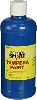 School Smart Tempera Paint Pint Turquoise