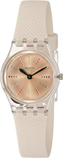 Swatch Women's Silver Dial SILICONE Band Watch - LK372