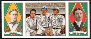 Johnny Evers Frank Chance Joe Tinker Chicago Cubs 1993 Upper Deck All-Time Heroes #148 Oversized Card Measures 2 1/4 inches by 5 1/4 inches MLB Baseball Card