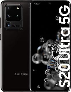 Samsung Galaxy S20 Ultra 5G - Smartphone 6.9 Dynamic AMOLED (12GB RAM 128GB ROM cámara 108MP gran angular Octa-core Exynos 990 5000mAh batería carga ultra rápida) Cosmic Black [Versión española]