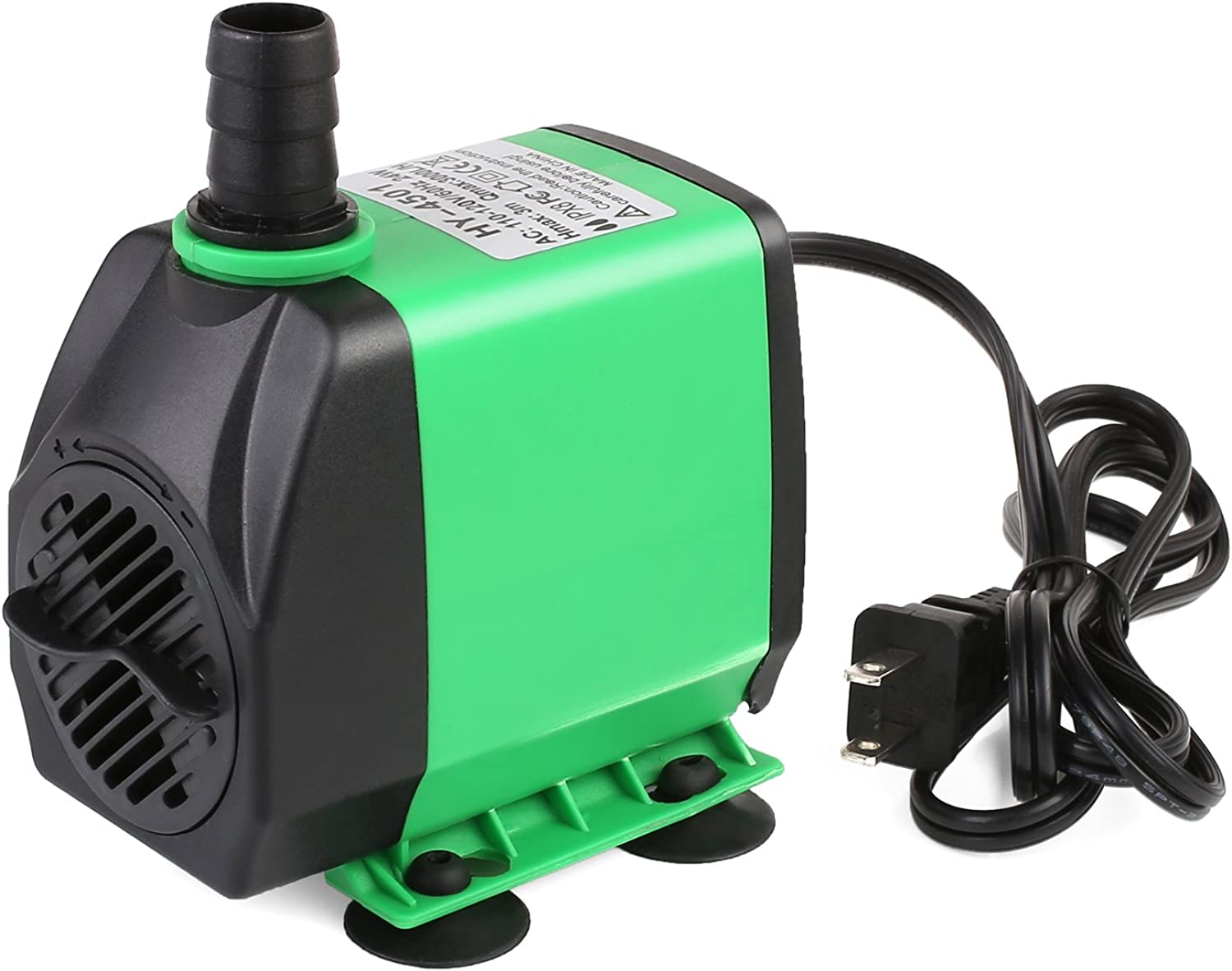Pedy 800GPH (3000L H) Submersible Water Pump for Pond, Aquarium, Fish Tank Fountain Water Quiet Pump Hydroponics, 24W