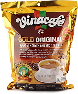 Vinacafe 3in1 GOLD ORIGINAL Instant Coffee - 3 in 1 Coffee - 40 packets x 20grams