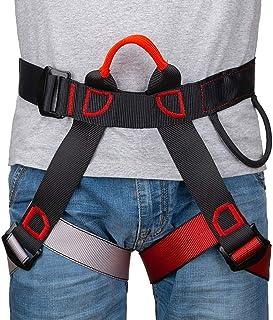 comprar comparacion Linkax Arnés de Escalada,Cinturones de Seguridad Equipo Escalada,Ajustable Equipos Anticaídas para Alpinismo, Salvamento e...