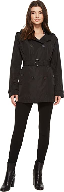 MICHAEL Michael Kors - Short Double Breasted Trench M723285F