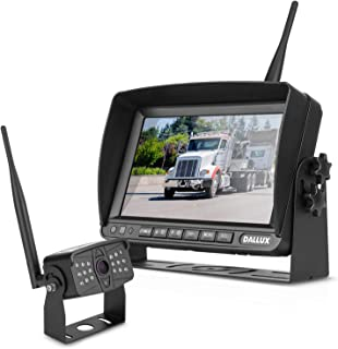 $169 » Digital Wireless Backup Camera Kit with 7 inch DVR Monitor for Heavy Vehicle/5th Wheel Pickup/Truck/Trailer/Bus/Van/RV Cam...