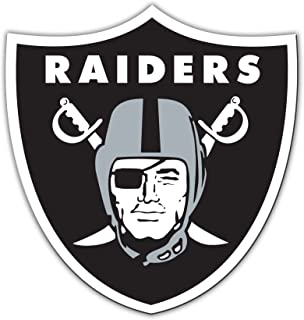 Fremont Die NFL Oakland Raiders 12-Inch Vinyl Logo Magnet