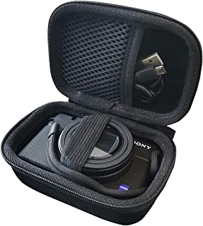 ソニー(SONY) デジタルカメラ Cyber-shot DSC-RX100M7/ RX100 M6/RX100 M5/RX100 M4/RX100 M3/RX100 M2/RX100 対応専用保護 旅行収納ケース -waiyu JP