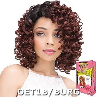 Janet Brazilian Scent Human Hair Blend Lace Wig - NAOMI (TT1B/1010)
