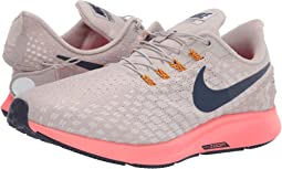 59027e7dc279 Moon Particle Blackened Blue White. 125. Nike. Air Zoom Pegasus 35 FlyEase