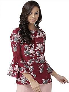 KRAVE Women's Floral Regular Top