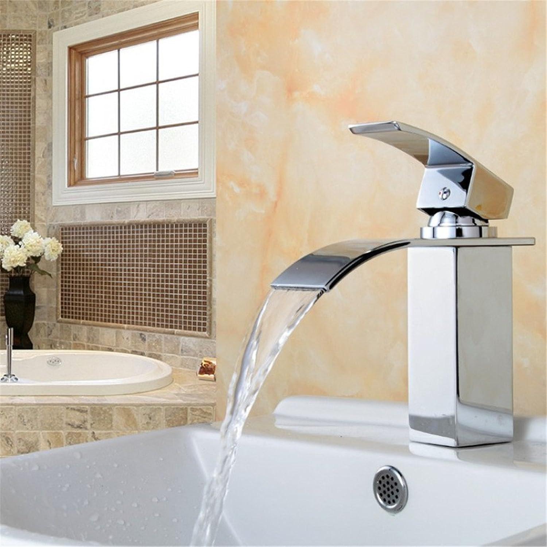 Bijjaladeva Antique Bathroom Sink Vessel Faucet Basin Mixer Tap The copper gold basin tap on the tub basin waterfall faucet A