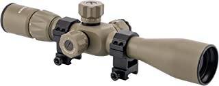 Monstrum Tactical 4-14x44 First Focal Plane (FFP) Rifle Scope with Rangefinder Reticle and Adjustable Objective Lens