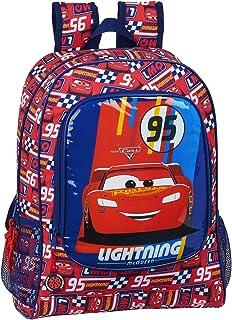 Mochila Safta Escolar de Cars, 320x140x420mm