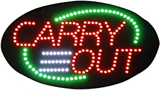 LED Drive Thru Open Sign for Business 19 x 10