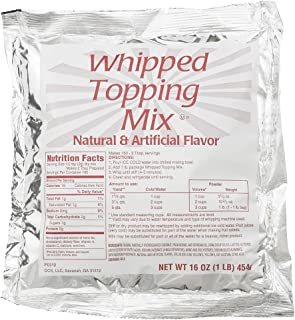 Best dry whipped topping mix powder Reviews
