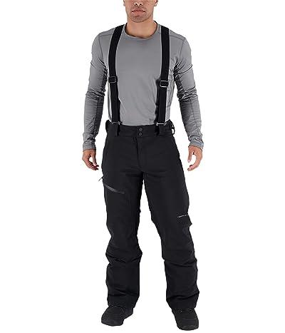 Obermeyer Force Suspender Pants (Black) Men