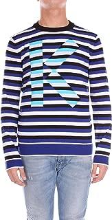 Kenzo Luxury Fashion Mens F855PU2103LB74 Multicolor Jumper | Season Outlet