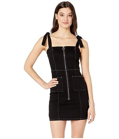 BB Dakota Read My Zips Dress (Black) Women