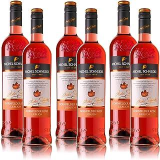 6 Flaschen Michel Schneider Dornfelder Rosé Pfalz QbA, lieblich 6 x 0,75 l