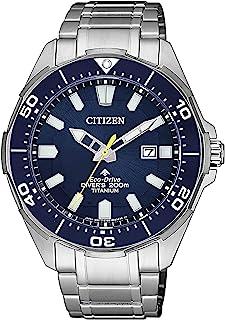 Citizen Reloj Analógico para Hombre de Cuarzo con Correa en Titanio BN0201-88L