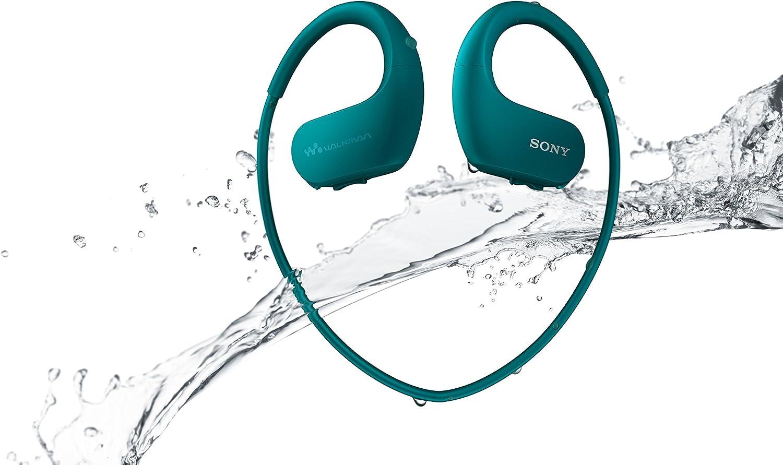 SONY Walkman 4GB headphone-integrated NW-WS413 (Blue)