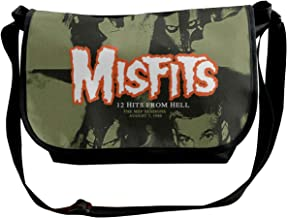 Misfits 12 Hits From Hell Unisex,lightweight,durable,school Backpack,multi-function Backpack,Shoulder Bags,school Bag