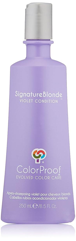 適切なオーク高めるColorProof Evolved Color Care ColorProof色ケア機関署名ブロンドコンディショナー、8.5 FL。オズ。 8.5オンス バイオレット