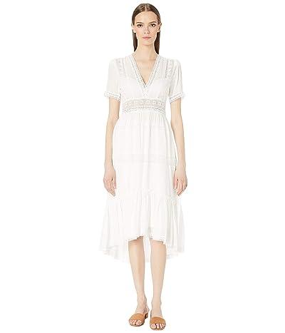 The Kooples Tiny Stitched Dress (White) Women